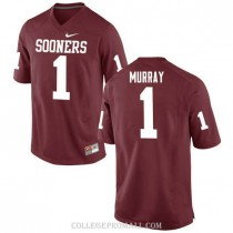 Youth Kyler Murray Oklahoma Sooners Jersey #1 Authentic Red College Football Jersey